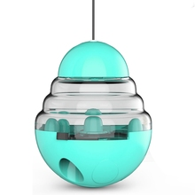 Interactive Cat Dog Toy IQ Treat Ball Smarter Pet Toys Food Ball Food Dispenser for Cats Playing Training Balls Pet Supplies new dog snack catapult launcher dog cat treat launcher snack food feeder catapult pet interactive training toys