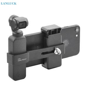 Image 1 - Dji osmoポケット2カメラ電話マウントクリップハンドヘルドジン電話用dji osmoポケットアクセサリー
