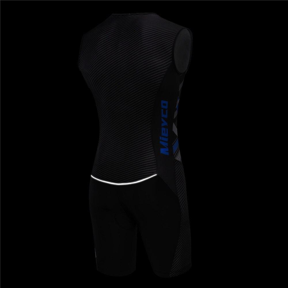 Image 3 - Триатлон, Велоспорт, джерси, без рукавов, одежда для велоспорта, мужской кожаный костюм, велосипед, Джерси, набор, Триатлон, костюм для плавания, бега, верховой ездыВелосипедные комплекты   -