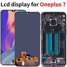 Amoled lcd For Oneplus 7 LCD Display Touch Screen Digitizer assembly replacement For Oneplus7 LCD