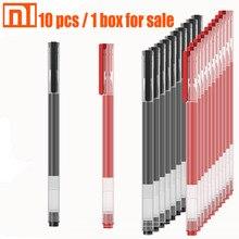 Original xiaomi pen 10 pcs / 1 box black and red smooth writing student office pen teacher doctor mi pen Japanese ink / 0.5mm