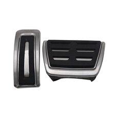 2 шт./компл. Замена для MK4 A1 A3 TT Skoda OCTAVIA III Нержавеющая сталь автомобили педаль автомобильные аксессуары