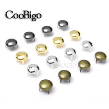 Spike-Studs Shoes Outdoor 200pcs 9mm Clothing Bag-Parts Decoration Rivets Nailhead Craft