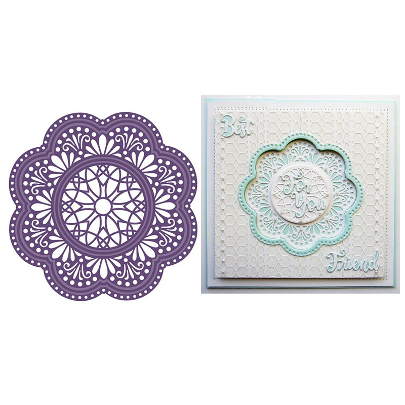Small LILAC PETAL Punch Quilling-Scrapbook-Cardcraft