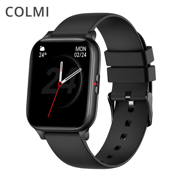 COLMI P8 Mix 1.69 Inch Smart Watch Men Heart Rate Monitor IP67 Waterproof Women Smartwatch Fitness Tracker for iPhone Plus 1
