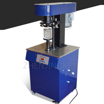 220V/500W Fully Automatic Can Sealer Electric Desktop Plastic Paper Can Capping Machine Equipment Drink Beer Packaging Tools 110v 220v fully automatic label peeling machine paper stickers label separator label tearing machine efficient tools equipment