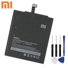 Xiao Mi Xiaomi BM33 Phone Battery For Xiao mi 4i Mi4i 3120mAh BM33 Original Replacement Battery + Tool xiao mi xiaomi mi bm22 phone battery for xiao mi 5 mi5 m5 prime bm22 2910mah original replacement battery tool