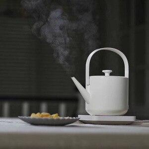 Image 2 - Neue XiaoTi Retro Wasserkocher 600ml Edelstahl Haushalts Kommerzielle Elektrische Wasserkocher 1200W Wasser Kessel Schöne Teekanne
