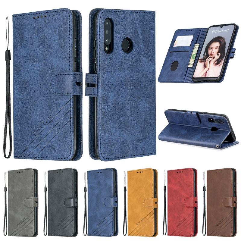 Huawei P30 Lite Case Leather Flip Case For Funda Huawei P30 Lite Phone Case Huawei P 30 Pro P30lite Cover Magnetic Wallet Cover