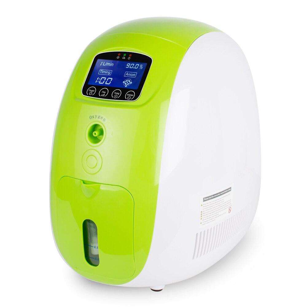 1L-5L регулируемый портативный полностью умный Домашний медицинский концентратор кислорода генератор