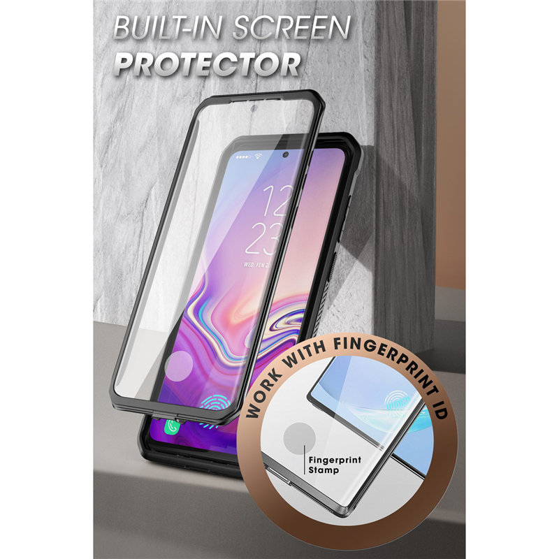 For Samsung Galaxy S20 Ultra Case / S20 Ultra 5G Case SUPCASE UB Pro Full-Body Holster Cover WITH Built-in Screen Protector