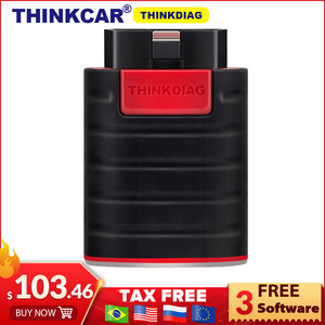 Thinkdiag full system OBDII Scanner Diagnostic Tool think diag OBD2 Code Reader 15 reset services PK AP200 easydiag golo(China)