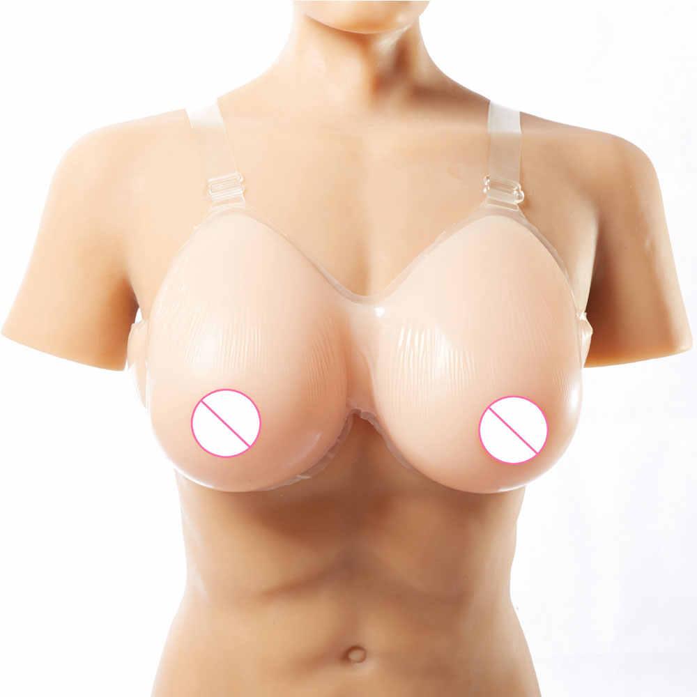 Seios falsos realistas, seios falsos com formato de mamas meme para crossdresser, travestis, transgêneros, mastectomy