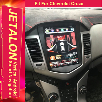 For Chevrolet Cruze Tesla Radio Android 9.0 Stereo GPS Car Multimedia Audio Player With 4G Lte Network Navigation IPS SCREEN