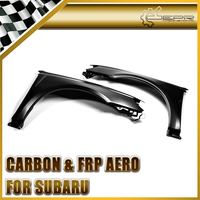 Car Accessories For Legacy 2009 BP5 D~F DAMD Style FRP Fiber Glass Front Fender Fiberglass Wheel Arch Flare Auto Racing Body Kit