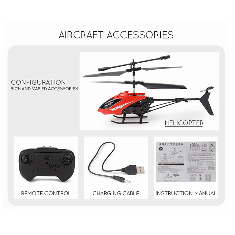 Kids Toys Mini Drone 2.5 Channel RC Helicopter Model Dron Toys for Children RC Helicopter Drones Helicopter Remote Control Toys