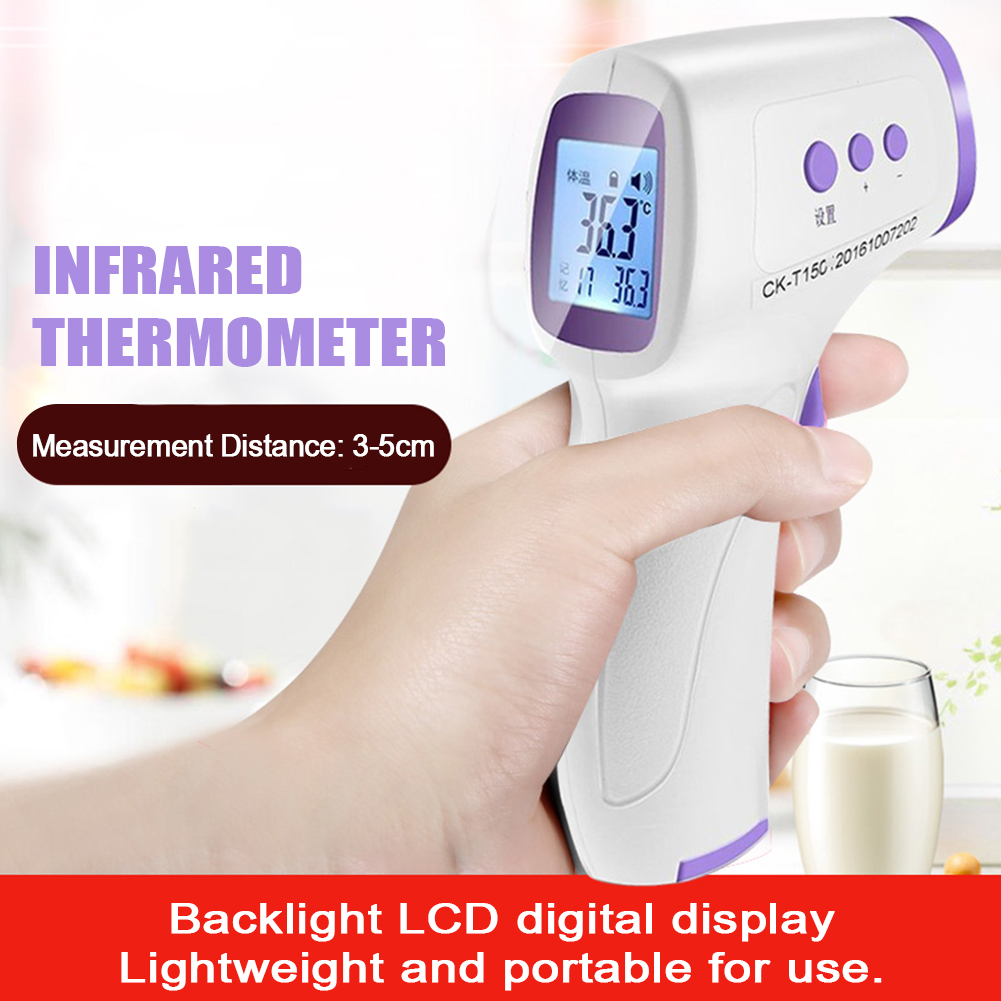 NEW Forehead Thermometer Non Contact Infrared Thermometer  LCD Digital Body Temperature Fever Measure Tool For Baby Adult