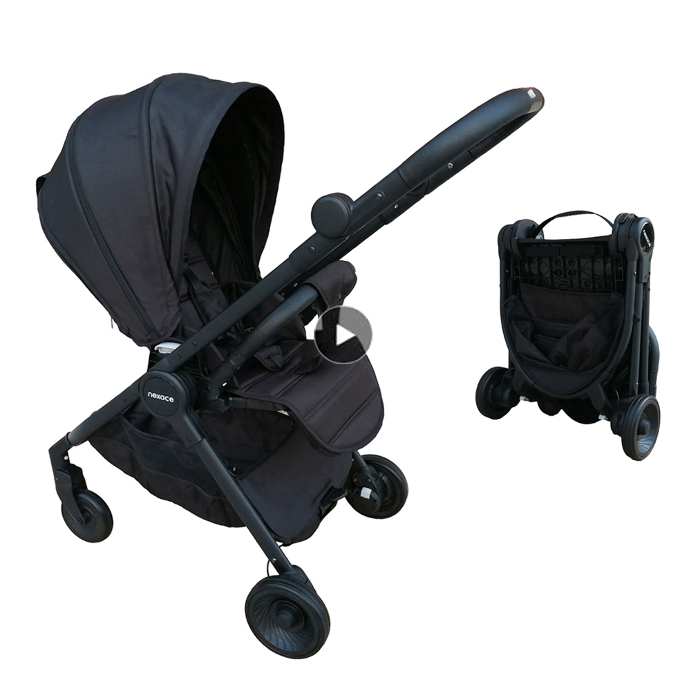 Lightweight Stroller Travel Portable Pram Reversible Pushchair EU Standard