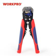 "WORKPRO 8"" Crimper Cable Cutter Automatic Wire Stripper Multifunction Pliers for Wire Stripping Crimping Terminal 0.2 6.0mm²"
