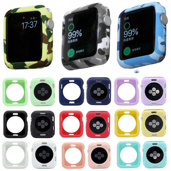 Camouflage Soft Case for Apple Watch 1