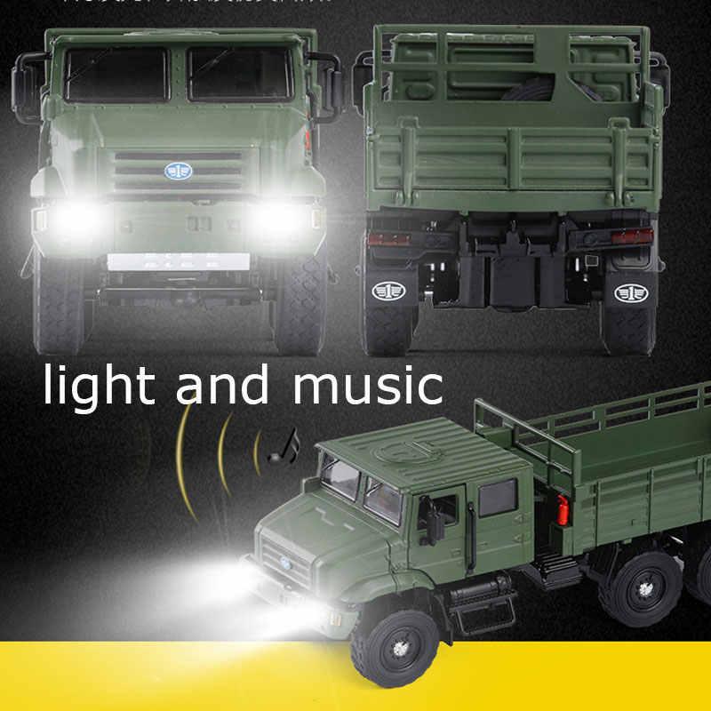 RC camión camiones militares juguetes eléctricos a Control remoto camión modelo Hobby 4 ruedas de juguete de coche del ejército camión juguetes para niños regalo
