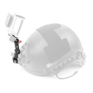 Image 5 - อลูมิเนียมอัลลอยด์อัลลอยด์อะแดปเตอร์DualหัวจุดกิจกรรมConnector 360 หมุนสำหรับGoproสำหรับOsmo Action EKENกล้อง