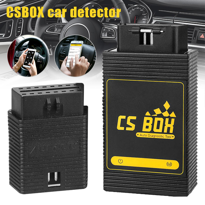 CS BOX Car Detector OBD Diagnostic Multi System WiFi Connect Android Launch  PUO88