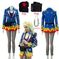 Birds of Prey 2 And the Fantabulous Emancipation of One Cosplay Harley Quinn Costume Suit Uniform for Women Female Halloween