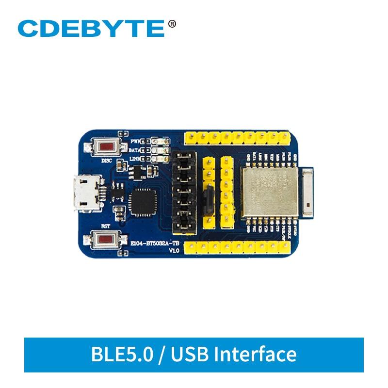 E104-BT5032A-TB NRF52832 USB Test Board Bluetooth Module BLE 5.0 For UART E104-BT5032A