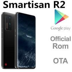 Dhl entrega rápida smartisan r2 5g telefone inteligente 16gb ram 512gb rom 108mp câmera snapdragon 865 android 10.0 face id 6.67