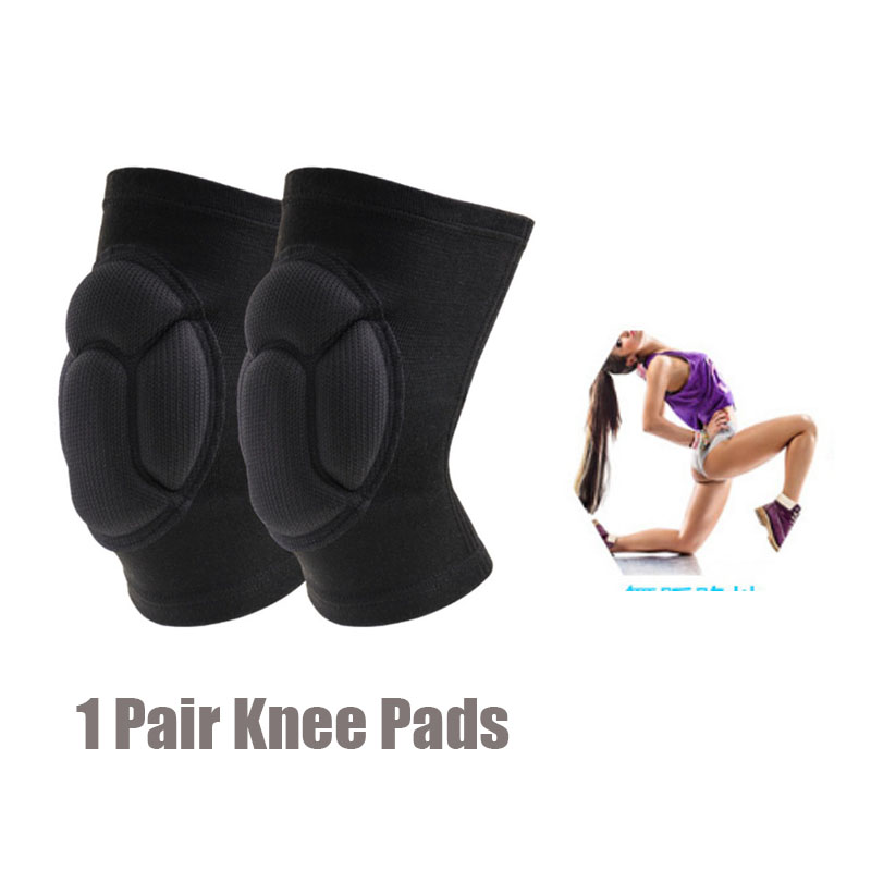 LPRED Fully Adjustable 1 Pair Knee Pads with Protective Gear Useful for Gardening Sports and Bike Riding for Safety 1