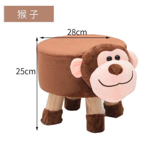 H1 Animal Shoes Stool Home Sitting Baby Cute Cartoon Sofa Stool Creative Children Small Bench Low Chair Armchair Cheap 3