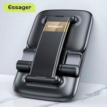 Essager מתקפל טלפון שולחני בעל עבור iPhone 12 iPad Xiaomi מתכוונן הכבידה מתכת שולחן נייד שולחן עבודה Smartphone Stand
