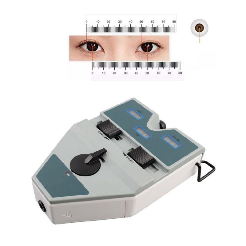 Digital Pupilometer Optical PD Ruler LCD 40-80mm Pupil Meter Interpupillary Test M7DA