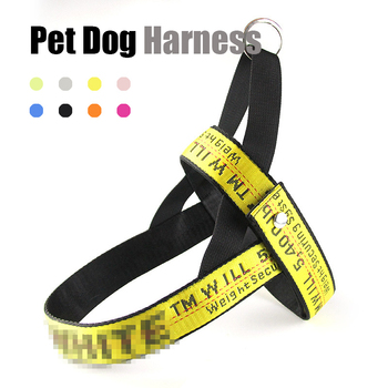 Pet Harness Off ins White Nylon Dog For Small Medium Large Dogs Cats Puppy Vest French Bulldog Chihuahua Rope