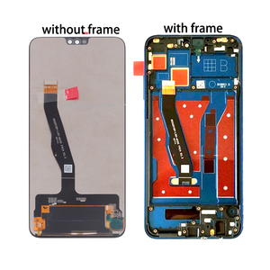 Image 2 - لهواوي الشرف 8X LCD عرض JSN L21 JSN AL00 JSN L22 اللمس شاشة محول الأرقام إصلاح أجزاء ل الشرف 8X LCD عرض مع الإطار