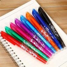 1 pces apagáveis truques de magia reescrever a fonte desaparecer caneta mágica, fontes de aquecimento desaparecer cor colorida brinquedo