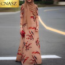 Cherry long sleeve hot sale modest fashion formal muslim dress hijab robe dubai pakistani for women