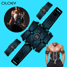 цена на EMS Abdominal Muscle Stimulator Home Gym Total Fitness Equipment Training Gear Muscles Press Simulator Muscle Training Apparatus