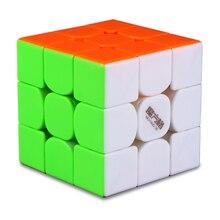 Puzzles-Cube Magic-Cube 3x3x3 Stickerless Magnetic Thunderclap Mofangge Qiyi Professional
