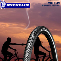 Michelin Bicycle Tire 700 38C Wagon Bike Tire Stab with Reflective Strips Electric Bike's Tire