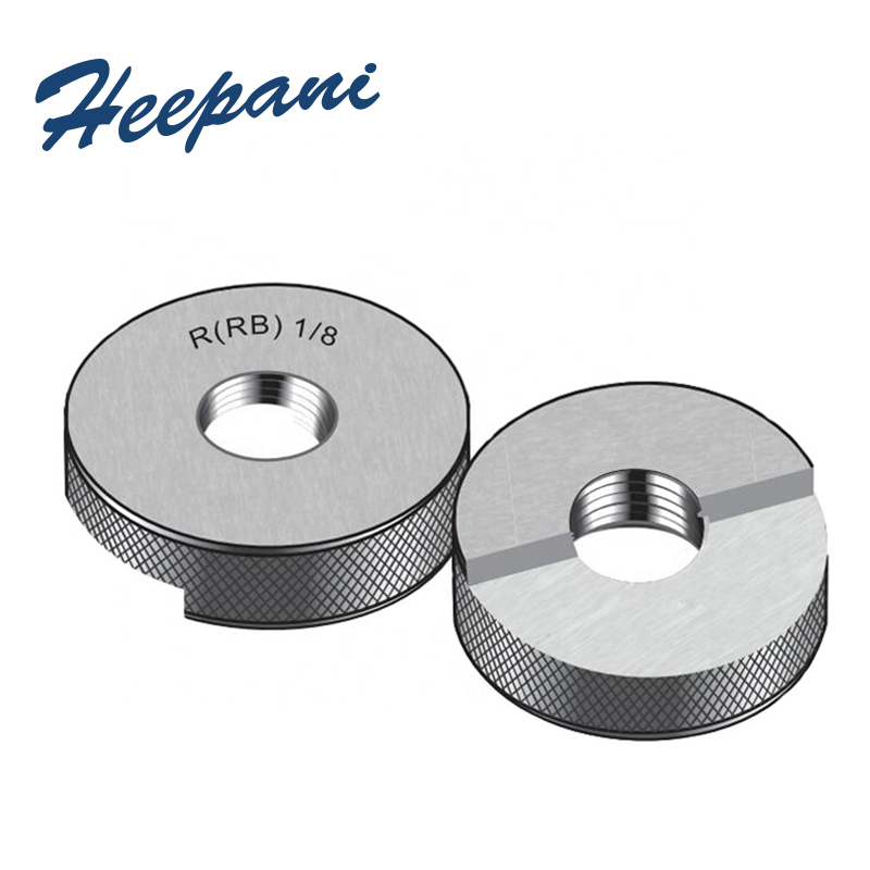 R Thread Ring Gauges R 1/8, 3/8, 3/4, 1/2, 1/4, 1inch American System Tapered Pipe Go No Go Ring Gauge