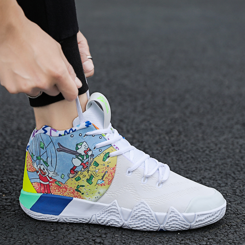 New Kyrie Irving Men Basketball Shoes Athletic Sports Sneakers Male Breathable Comfortable Footwear Outdoor Air Cushion Shoes