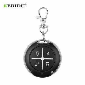 Image 2 - Kebidu controle remoto de 433mhz, controle remoto para portão, sem fio, rf, 4 canais, clonagem elétrica, para portão, porta de garagem e carro, chaveiro