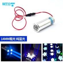 450 нм 100 мВт синий лазер диод модуль жир толстый луч полоса этап свет 3,6-4,2 В