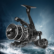 DMK Fishing Reels Spinning Reel 8+1BB 5.2:1 All Metal Freshwater Saltwater Power Fishing Reel with Cover Bag Fishing dmk fishing reels spinning reel 8 1bb 5 2 1 all metal freshwater saltwater power fishing reel with cover bag fishing