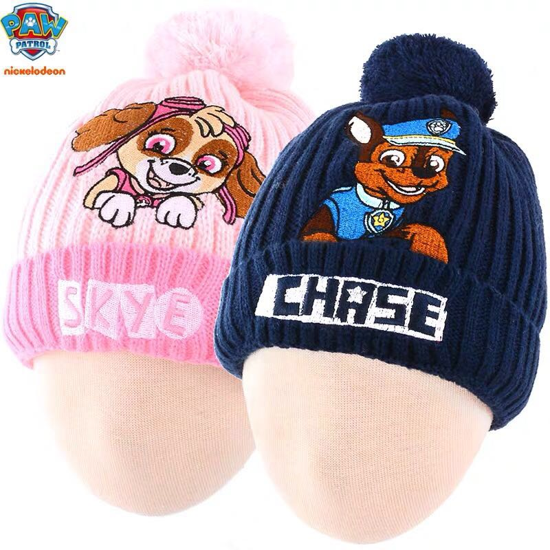 New Arrival Genuine Paw Patrol Hat Action Figure Cap Rescue Team 6 Kinds Skye Everest Chase Ryder Children Toy Christmas Gift