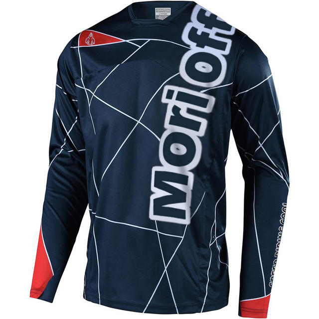Mens Downhill Motocross Racing Jersey Motorcycle Moto Long Sleeve t Shirt Off-Road Jersey 100/% Polyester Bike Shirt