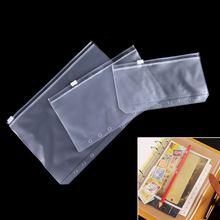 Прозрачная сумка для хранения карт из ПВХ a5/a6/a7 путешественника