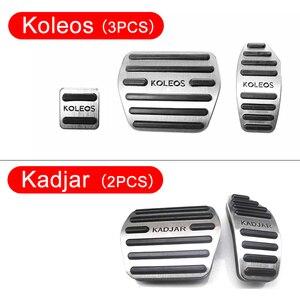 Image 4 - Pédales daccélérateur de voiture, frein de voiture, en alliage daluminium, couvercle antidérapant pour Renault Kadjar Koleos 2016, 2017 et 2018, accessoires